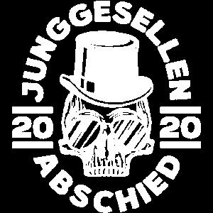 Junggesellenabschied Skelett 2020