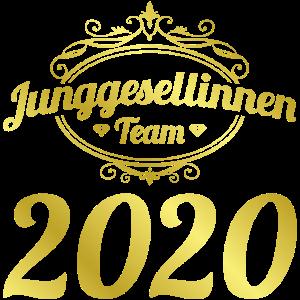 junggesellinnenteam 2020 gold