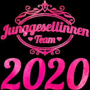 junggesellinnen team 2020 pink