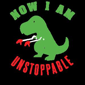 T-Rex mit Greifarmen