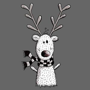 Lustiges Rentier - Geschenk - Weihnachten - Winter