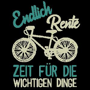 Rente Rentner Fahrrad Geschenk