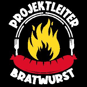 Grillen BBQ Projektleiter Bratwurst