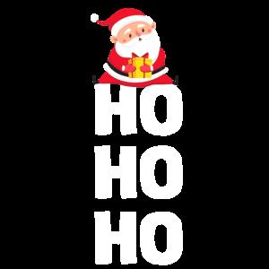 Ho Ho Ho Weihnachtsmann Santa Claus Christmas