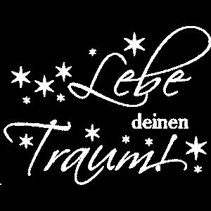 Lebe deinen Traum! mit Sternen