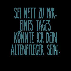 Altenpfleger Seit Nett Seniorenheim Altersheim