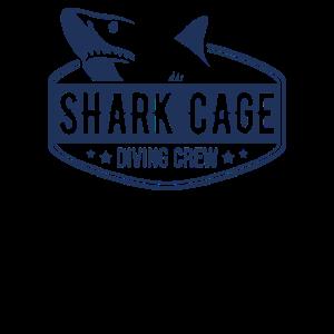 Hai Käfig Tauchen Käfigtaucher Team Haifisch Haie