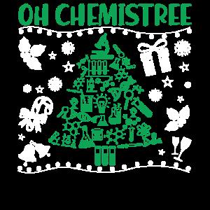 Chemie Weihnachten Oh Chemistree