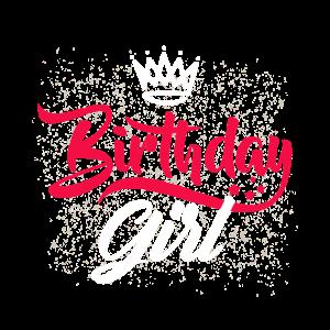 Birthday Girl - Geburtstag Mädchen