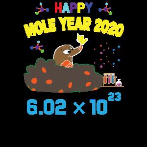 Maulwurf Tier des Jahres 2020 Geschenk Gärtner