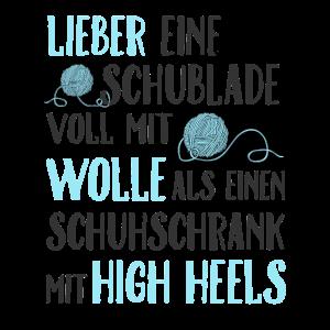 Lieber Wolle als High Heels