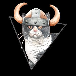 Viking Kitty Cat T-Shirt