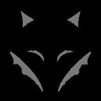 Fuchs Silhouette, Motiv für den Herbst, fox.