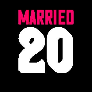 Verheiratet seit - Paar Motiv