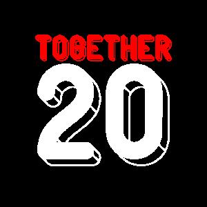 Zusammen seit 2011 - Paar Motiv Teil 1