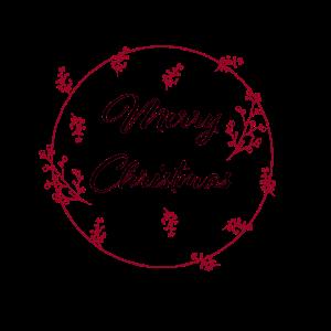 Merry Christmas Mistelzweig Geschenk Idee