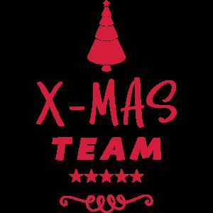 X Mas Tannenbaum Weihnachten Team