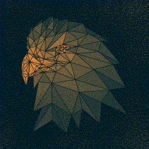 Adler punktiert