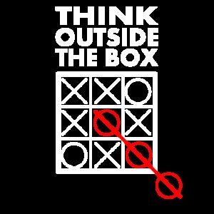 Anders Denken Metapher Think Outside the Box