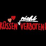 Küssen verboten - rot