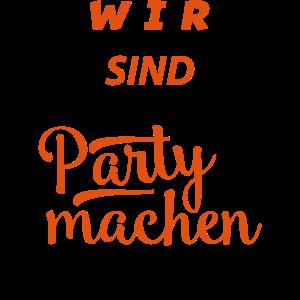 party machen hier