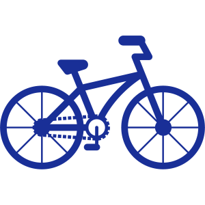Fahrrad City Stadt Fahrrad Bike Öko Symbol Eco
