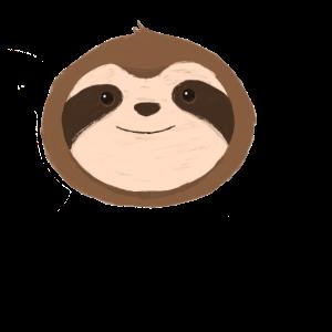 Sloth T-Shirt Geschenk Grafik