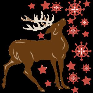 Weihnachtshirsch
