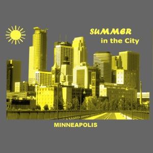 Summer City Minneapolis Minnesota
