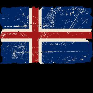 Iceland Flag - Island Flagge -  Ísland