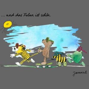 Janosch Tiger Und Freunde Das Leben Ist Schön