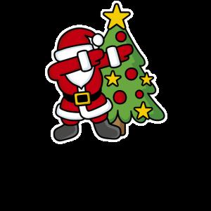 Dabbin' around the Christmas tree - Text