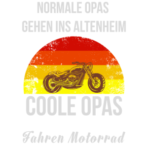 Opas Motorrad Altenheim Cool Rente