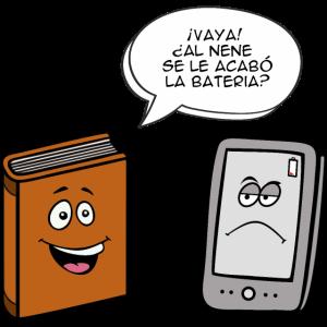 Buch gegen eBook (esp)