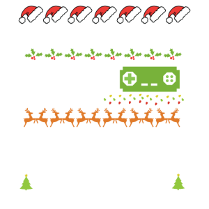 I Paused My Game to Be Here Weihnachtsedition
