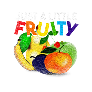 Just A Little Fruity LGBT Fruit Support Gay Pride