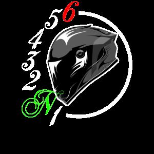 Motorrad Helm Gangschaltung