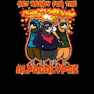 Alpacalypse Alpaka T-Shirt