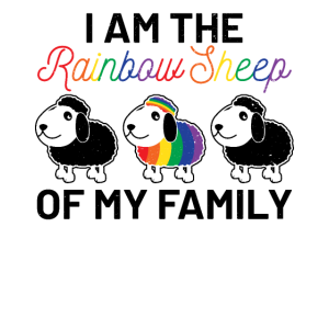 I am The Rainbow Sheep Of My Family Im LGBT Gay Le