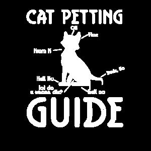 Katze schmusen Lustig Katzen Liebhaber Shirt