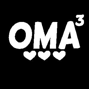 Oma hoch Drei