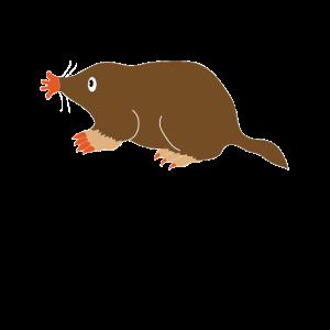 Maulwurf Tier des Jahres 2020 Geschenkidee Garten