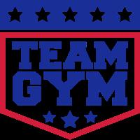 team gym wappen workout gym beast mode cool design