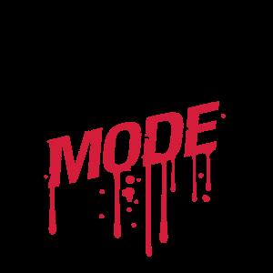 workout mode graffiti tropfen gym spray beast cool