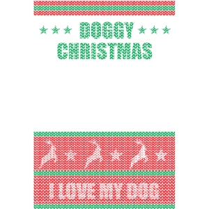 Doggy Ugly Christmas Sweater - Weihnachten
