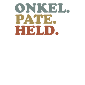 Herren Onkel Pate HeldGeschenk für Taufpate