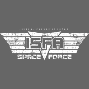 ISFA Spaceforce White grunge