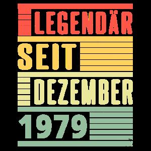 Legendär seit Dezember 1979 40 Geburtstag Geschenk