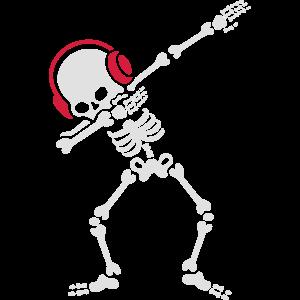Skelton Dab Dabben Headphones Music