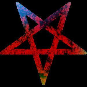 Pentagramm / pentagram / satan